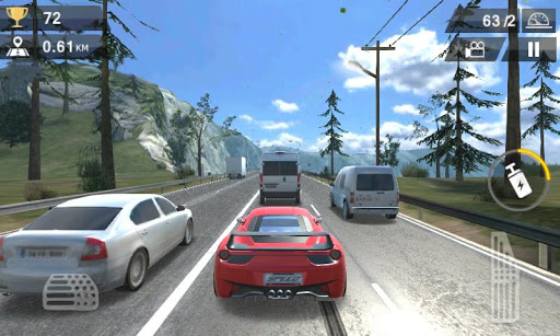 Racing Traffic Car Speed  screenshots 4