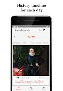 Historical Calendar - Today in History & Quiz