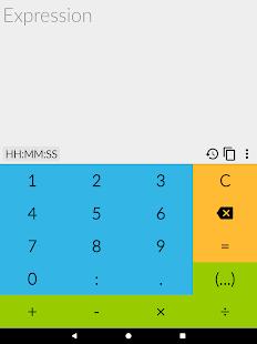 tCalc - a time calculator