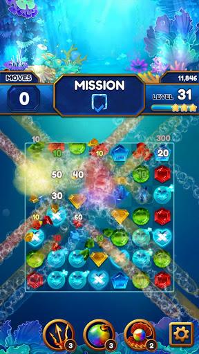 Under the Deep Sea: Jewel Match3 Puzzle screenshots 22