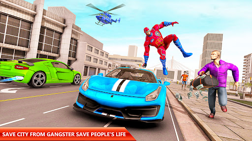 Police Robot Rope Hero Game 3d android2mod screenshots 10