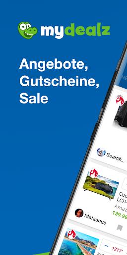mydealz u2013 Gutscheine, Angebote 5.54.00 Screenshots 1