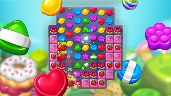 Lollipop: Sweet Taste Match 3 Screenshot