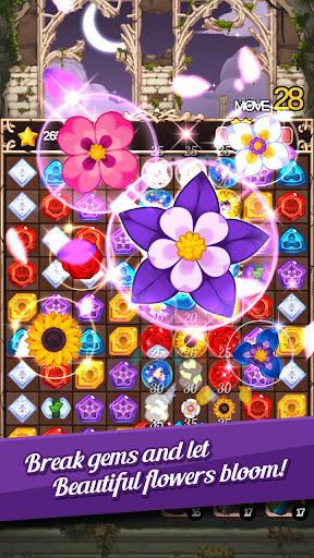 Télécharger gratuit Witch's Garden: puzzle APK MOD 2