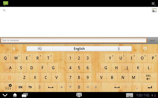 GOKeyboard WoodGraintheme(Pad) For PC Windows (7, 8, 10, 10X) & Mac Computer Image Number- 7