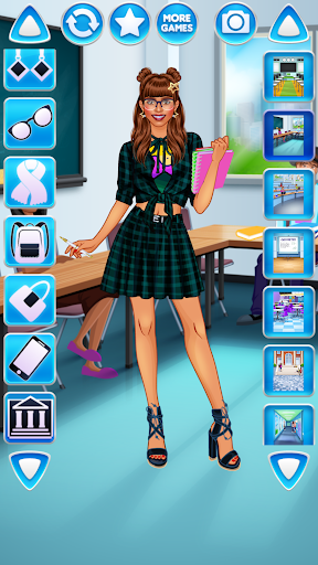 College Student Girl Dress Up android2mod screenshots 17