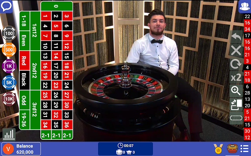 Live Casino: Play Roulette, Baccarat, Blackjack 21 apkpoly screenshots 6