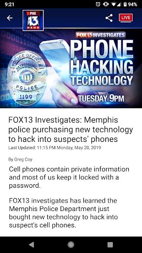 FOX13 Memphis 7.5.0 screenshots 5