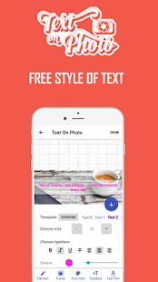 Create Quote - Write text on photo Screenshot