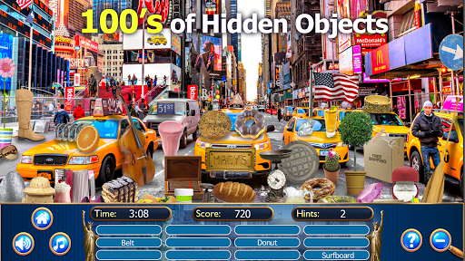 Hidden Objects New York City Puzzle Object Game  screenshots 10