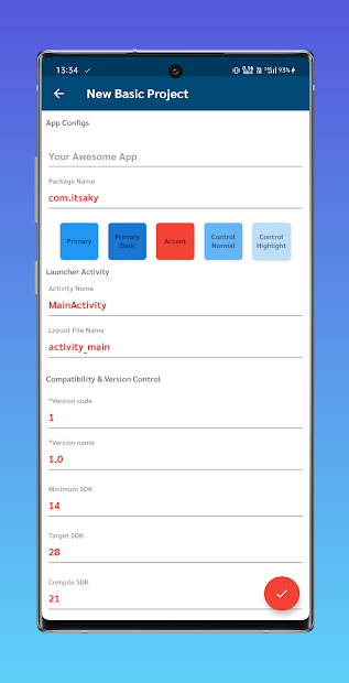 AIDE Mate Pro - Create Android App Projects easily screenshot 3