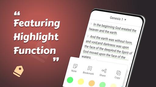 King James Bible (KJV) - Free Bible Verses + Audio android2mod screenshots 13