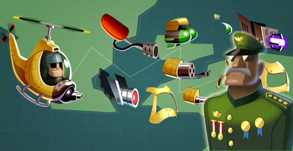 Heli Hero : Helicopter Shooter MOD APK 0.9 (Unlimited Money) 4