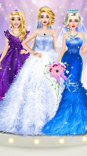 Ice Princess Wedding Dress Up Stylist 0.12 screenshots 1