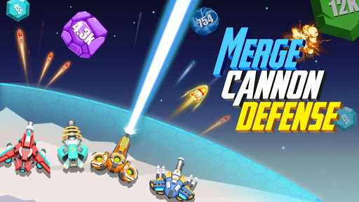 Merge Cannon Defense apklade screenshots 1
