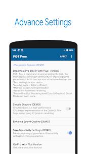 PGT FreeGFX & Optimizer Pro Version Download Latest 3