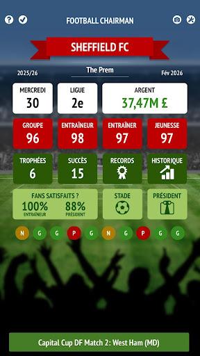 Télécharger gratuit Football Chairman Pro APK MOD 2