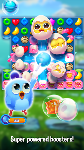 Bird Friends : Match 3 & Free Puzzle modavailable screenshots 2