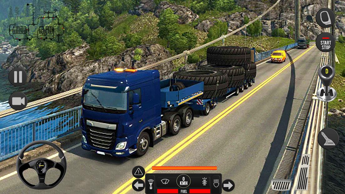 Captura de Pantalla 5 de Camión pesado mundial: nuevos juegos de camiones para android
