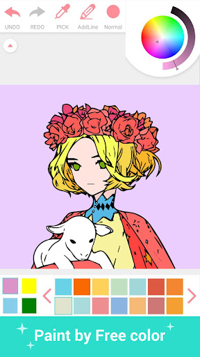 Paint Color - Paint color by number, coloring book 3.2 screenshots 6