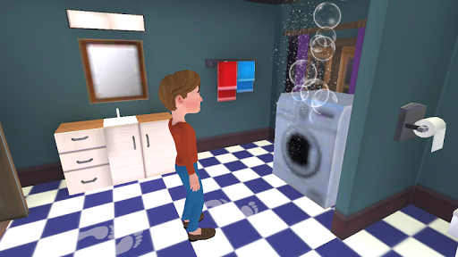 Super Dad : Virtual Happy Family Game  screenshots 18