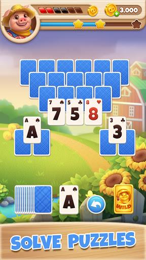 Farm Story - Solitaire Tripeaks 1.0.3 screenshots 4