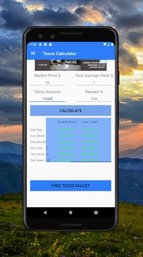 Tezos Staking Calculator  screenshots 2