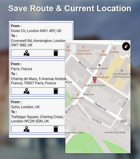 GPS Offline Navigation Route Maps & Direction  Paidproapk.com 4