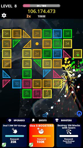 balls vs box numbers idle - bricks breaker screenshot 1