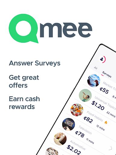 Qmee: paid surveys. Cash, quick money rewards Apkfinish screenshots 5