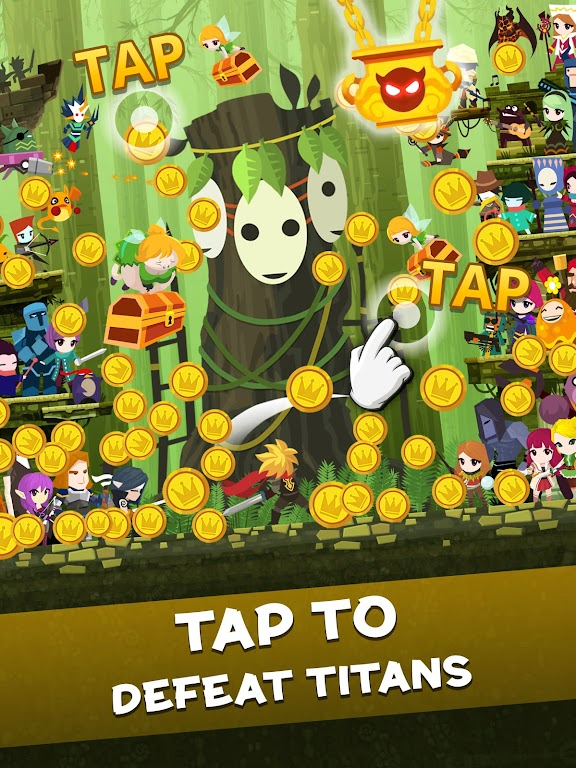 Tap Titans 2: Heroes Attack Titans. Clicker on! poster 12