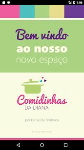 """""""Comidinhas da Diana"""" por Fernanda Fontoura 1"""
