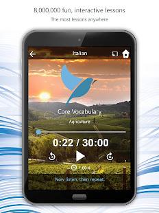 Learn 163 Languages   Bluebird 1.8.9 Screenshots 18