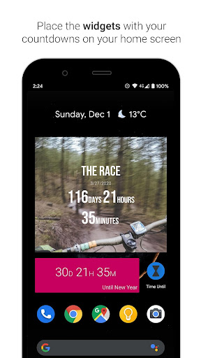 Time Until | Beautiful Countdown App + Widget 3.0.3 Screenshots 4