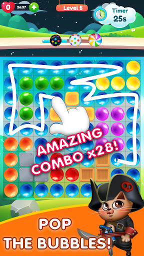 Kitty Bubble : Puzzle pop game 1.0.3 screenshots 5