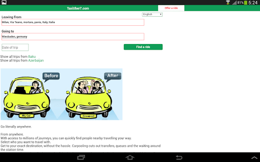Blablataxi: Carpooling  Screenshots 4