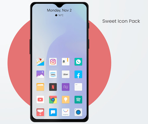 Download APK: Sweet – Icon Pack v2.3 [Patched]