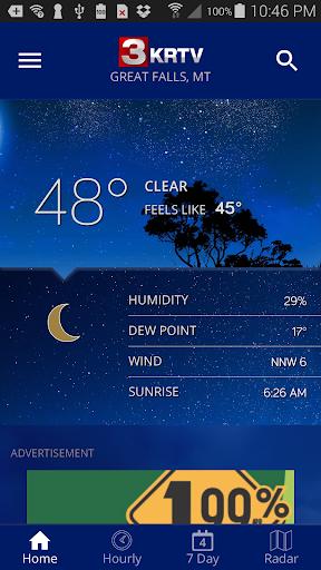 KRTV STORMTracker Weather App 5.3.702 screenshots 1
