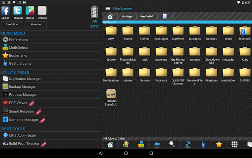 Ultra Explorer [Root Browser] 1.3.2 Screenshots 9