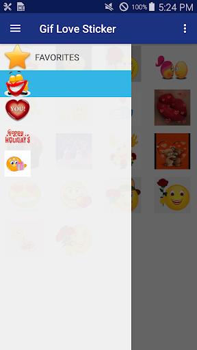 Gif Love Sticker screenshots 2