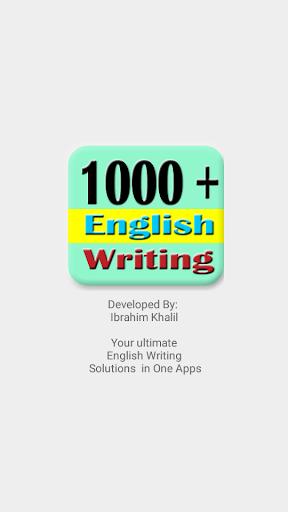English Writing skills for academic (free)  screenshots 1
