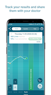 Smart Asthma: Forecast Asthma with Peak Flow Chart 2.5.2 Mod APK Direct Download 2