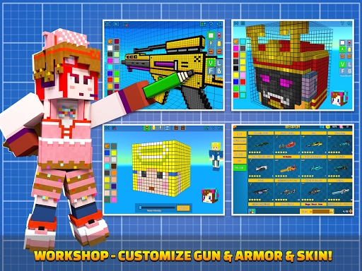 Cops N Robbers - 3D Pixel Craft Gun Shooting Games goodtube screenshots 23