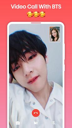 BTS Video Call : Fake Video Call BTSのおすすめ画像3