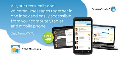AT&T Messages for Tablet .APK Preview 0