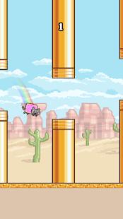 Flappy Nyan Cat: The flying - talking cat pet