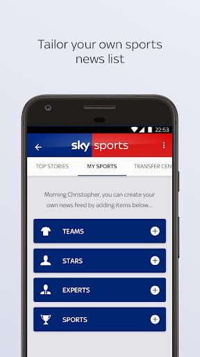 Sky Sports apktram screenshots 3