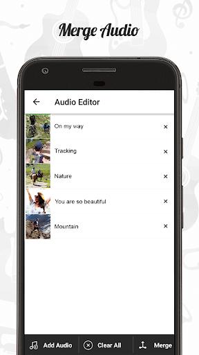Audio Editor : Cut,Merge,Mix Extract Convert Audio 1.22 Screenshots 3