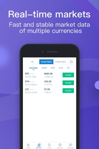 Huobi Global-Bitcoin Marketplace screenshots 2