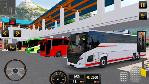 Luxury Tourist City Bus Driver ud83dude8c Free Coach Games screenshots 12